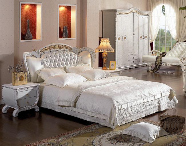 Białe łóżko Księżniczka