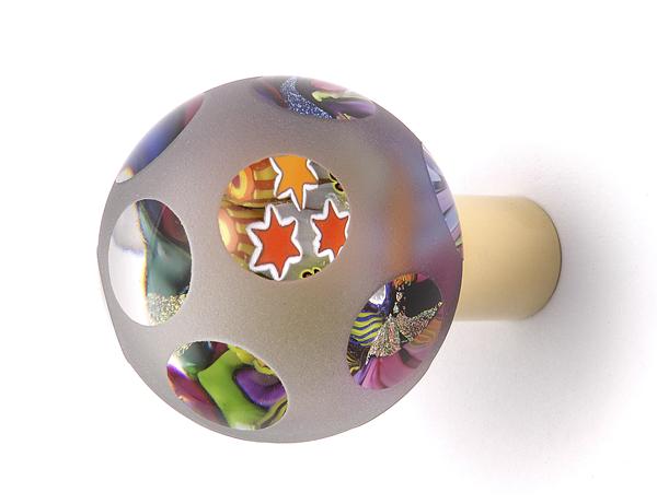 Gałka do drzwi w kształcie kuli