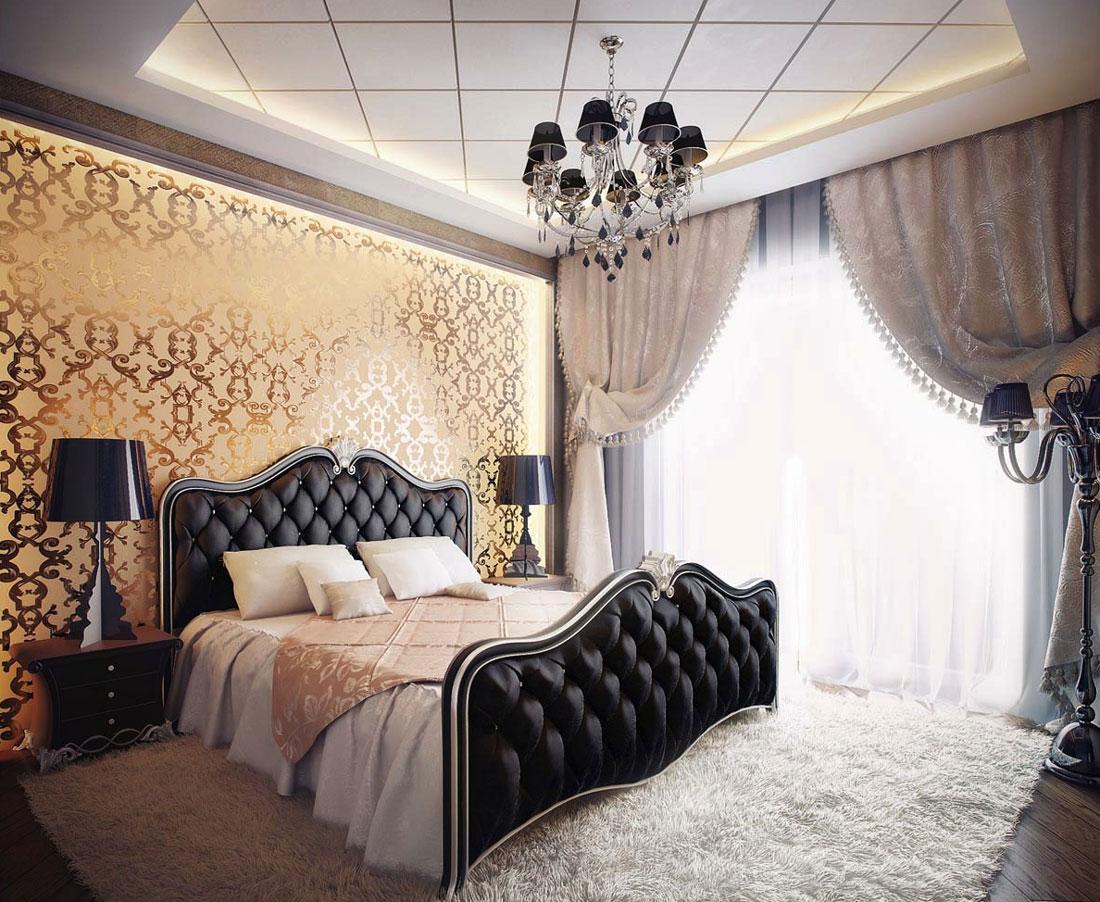 Aranżacja romantycznej sypialni dla nowożeńców