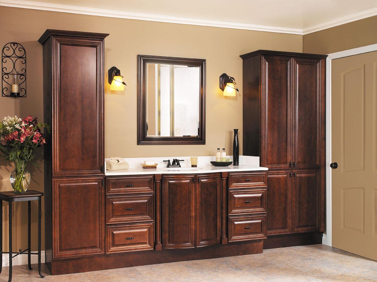 Stylowe meble azienkowe drewniane klasyczne retro for Bathroom planner in feet and inches