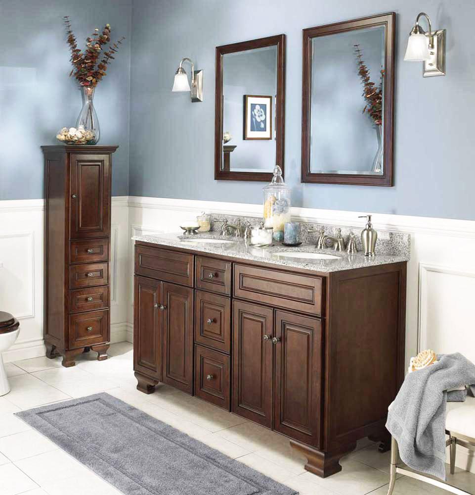 Do Vanity Lights Go Up Or Down : Stylowe meble ?azienkowe - drewniane, klasyczne, retro