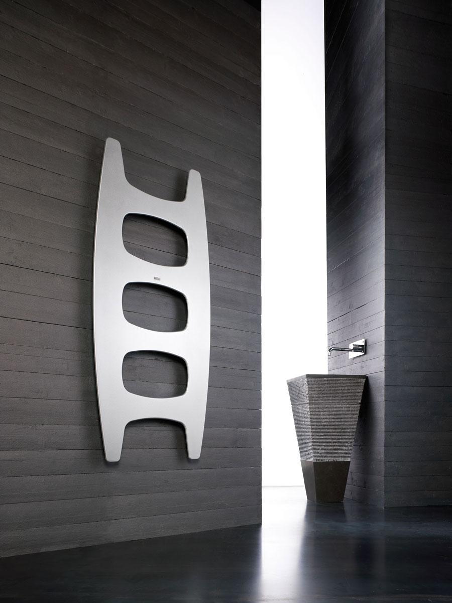 Nowoczesny designerski grzejnik drabinkowy - innowacyjny, modernistyczny projekt