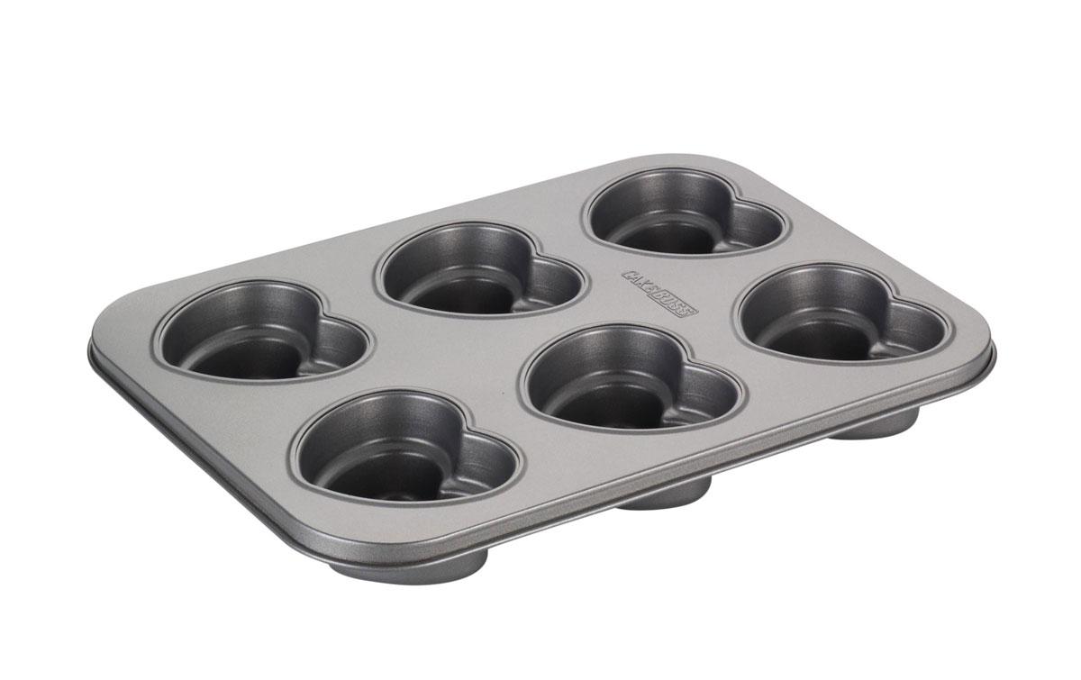 Pomysł na walentynkowe inspiracje kulinarne: forma do ciastek w kształcie serca - w Dzień Zakochanych można sobie pozwolić...