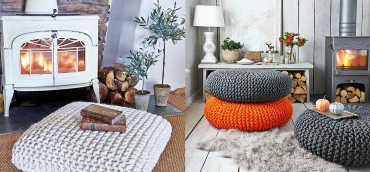 Poduszki do siedzenia na podłodze: duże, wielkie i wygodne