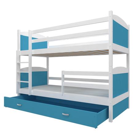 Piętrowe łóżko do pokoju młodzieżowego