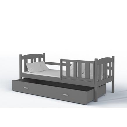 Łóżko z szyfladą do pokoju młodzieżowego