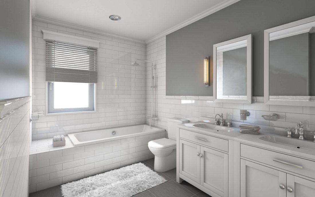 Jaka farba do łazienki biała łazienka