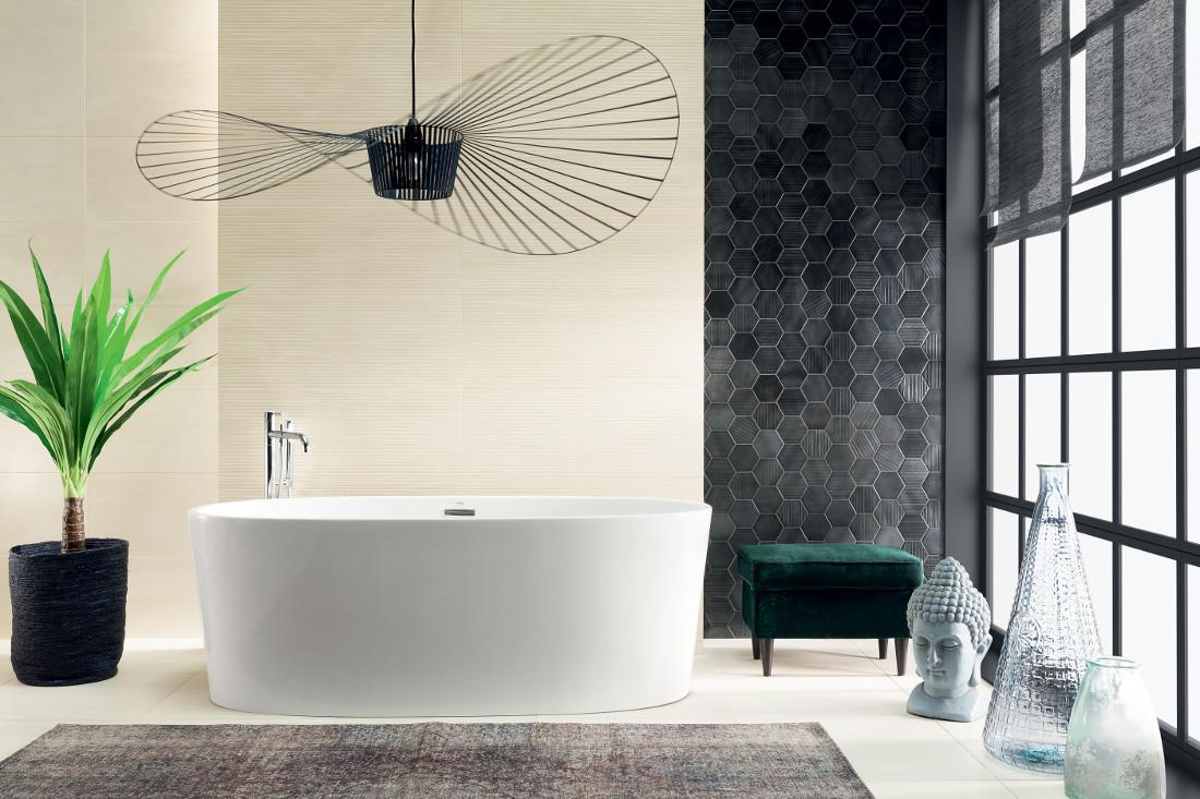 Płytki łazienkowe Tubądzin kolekcja Aran Horizon